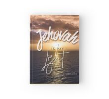 Jehovah is my light - Psalm 27:1 Hardcover Journal