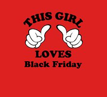 This Girl Loves Black Friday Womens Fitted T-Shirt