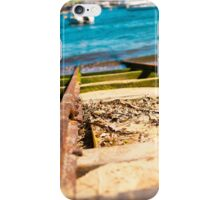 Blue Train Tracks | Greenwich Baths iPhone Case/Skin