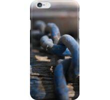 Chain Reaction Blue   Greenwich Baths iPhone Case/Skin