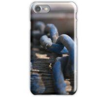 Chain Reaction Blue | Greenwich Baths iPhone Case/Skin