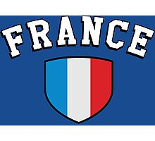 France Supporters Photographic Print
