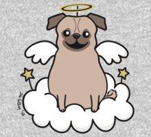 Pug Angel One Piece - Long Sleeve