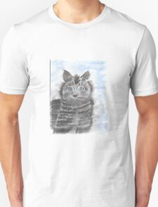 Lonely Kitty-Miss you! T-Shirt