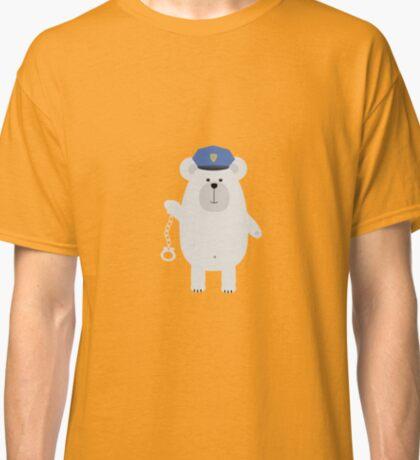 Polar bear with handcuffs Classic T-Shirt