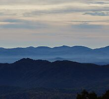 Blue Ridge, Parkway view by paulboggs