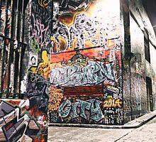 Hosier Lane, Melbourne OCT 2014 by jamespaullondon
