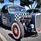 Old Skool Hot Rod by Clintpix