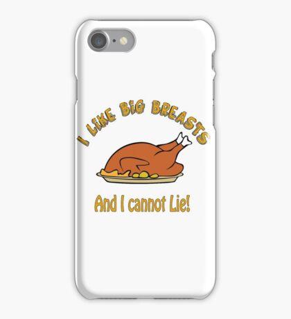 I Like Big Breasts and I Cannot Lie! iPhone Case/Skin