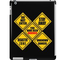 "TEEN ""WARNING"" SYSTEM iPad Case/Skin"