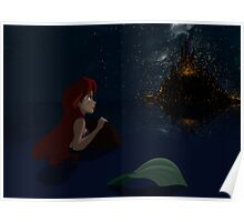 """The Little Mermaid - Ariel """"Such wonderful things"""" Poster"""