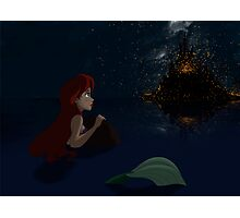 """The Little Mermaid - Ariel """"Such wonderful things"""" Photographic Print"""
