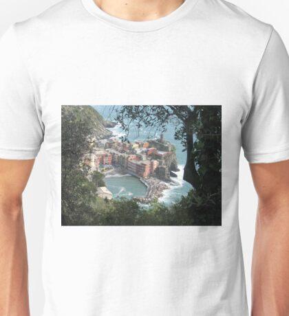 Vernazza, La Cinque Terre Unisex T-Shirt