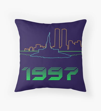 New York 1997 Throw Pillow