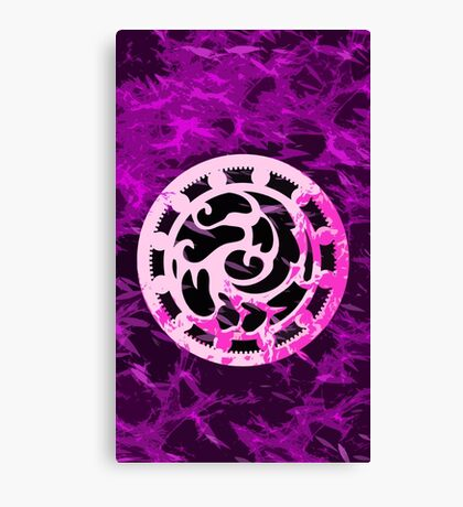 Crested pink Canvas Print