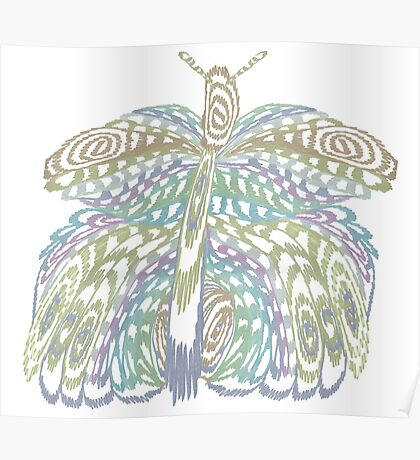 Brilliant Butterfly Poster