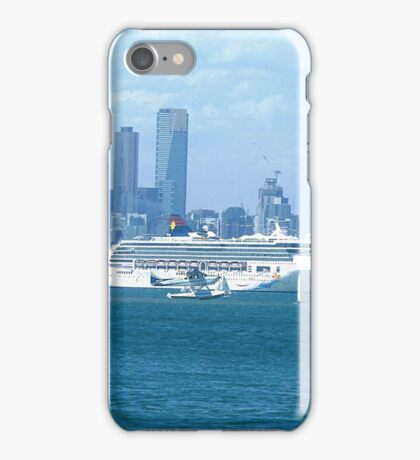 Star Line Liner docked Port Melbourne, Vic. Australia iPhone Case/Skin