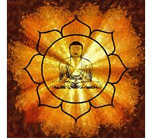 Lotus Buddha by Sarah Kirk Photographic Print