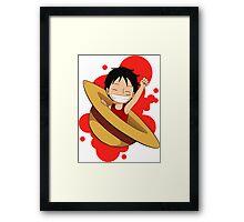 Luffy Fanart 12 Framed Print