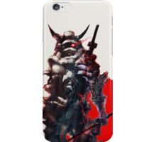 Samurai IV Bishamon iPhone Case/Skin
