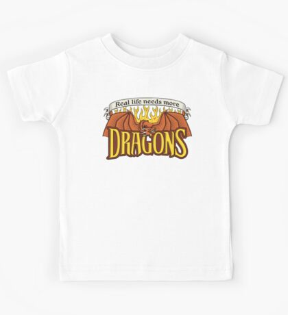 More Dragons Kids Tee