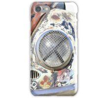 Rusty beetle, old car iPhone Case/Skin