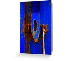 Moroccan Rust III [Print & iPad Case] Greeting Card