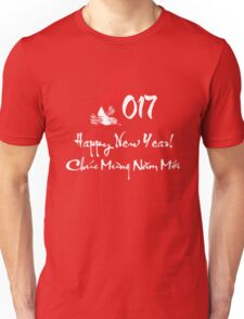 Happy New Year, Chuc Mung Nam Moi 2017 Unisex T-Shirt