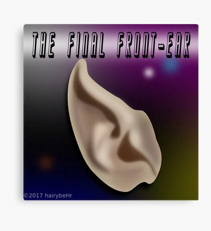 The Final Front-Ear Canvas Print
