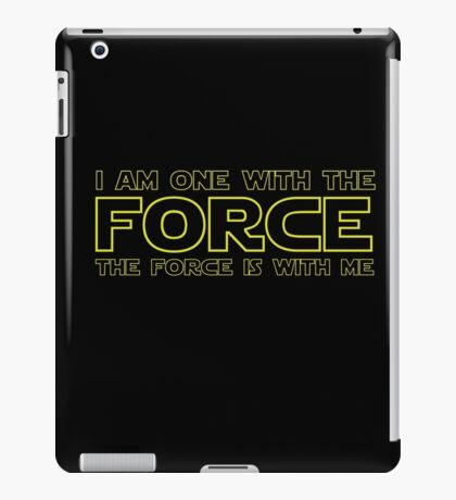 Force Chant - 2 iPad Case/Skin