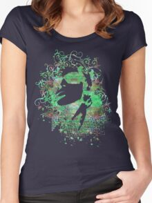 Green Girl Women's Fitted Scoop T-Shirt
