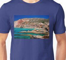 Fyriplaka beach, Milos island Unisex T-Shirt