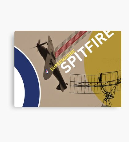 Spitfire Supermarine Canvas Print