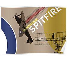 Spitfire Supermarine Poster