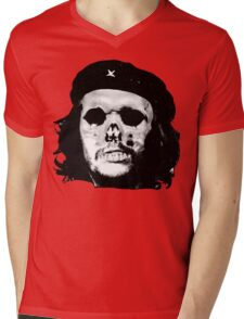 Che Calavera Mens V-Neck T-Shirt