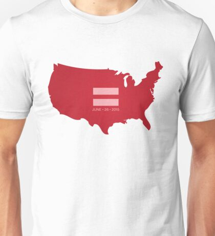 Equal Marriage America Unisex T-Shirt