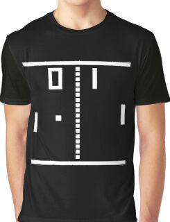 Pong (retro) Graphic T-Shirt