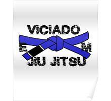 Brazilian Jiu jitsu Blue Belt - BJJ Blue Belt Poster