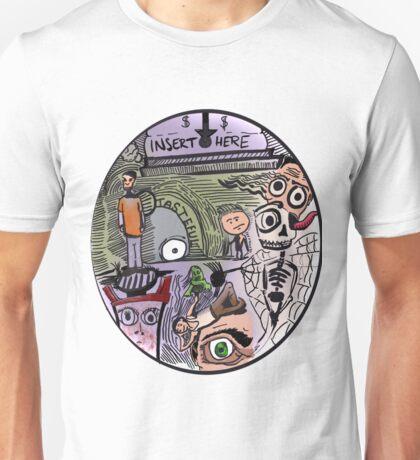 Coin Slot Unisex T-Shirt