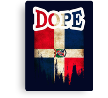 Dominican Dope Canvas Print