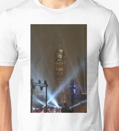 New Years Eve, Parliament Hill, Ottawa, Canada 2017 Unisex T-Shirt