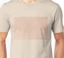 Ecru canvas cloth texture abstract Unisex T-Shirt