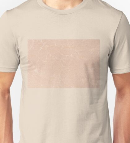 Ecru canvas cloth texture abstract Unisex T-Shirt
