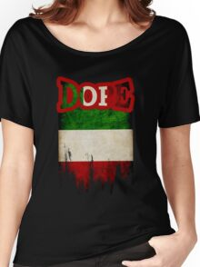 Italian Dope Women's Relaxed Fit T-Shirt