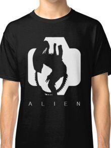Alien Silhouette  Classic T-Shirt