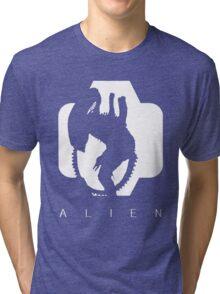 Alien Silhouette  Tri-blend T-Shirt