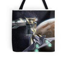 Hostile Realms - Vessel Attack! Tote Bag