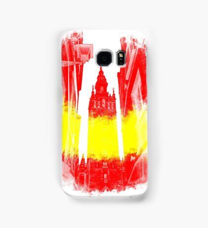 The Giralda - Spanish Flag Samsung Galaxy Case/Skin
