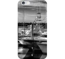Evening at the Marina iPhone Case/Skin
