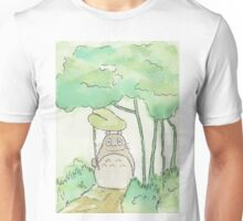 Totoro in the forest Unisex T-Shirt
